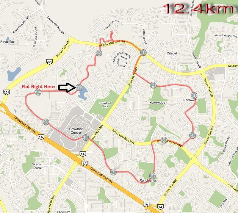 12km - Flat